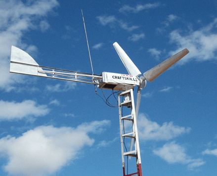 Locally made solutions for energy production: windturbine and biogas digester