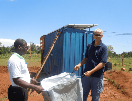 Launching the community-own off-grid solution in Western Kenya