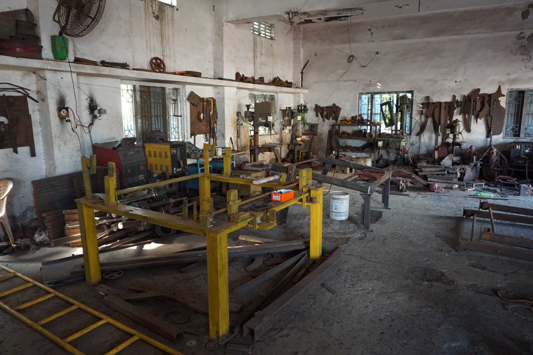 The factory where the Groundnut Diggin Machines are produced